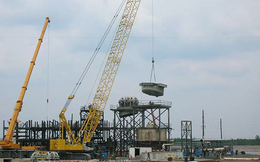 dhg contracting dupont plant dismantlement reassembly