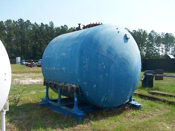 Glass Lined Tank Approx. 4000 gallon