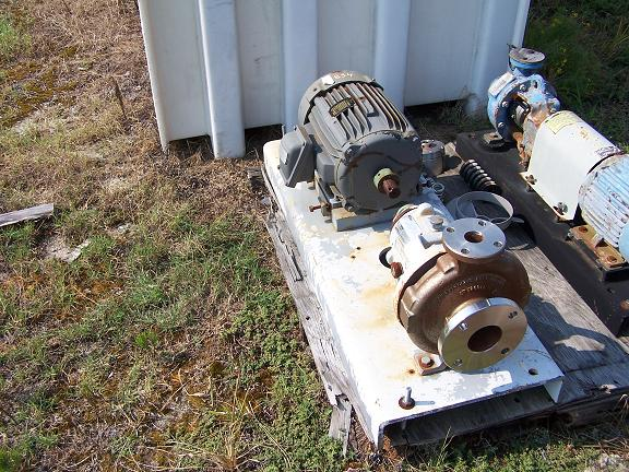 Used Durco T-316 stainless steel centrifugal pump