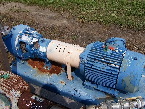 Used Durco stainless steel centrifugal pump.  Size: 2K2 X 2P-10/10