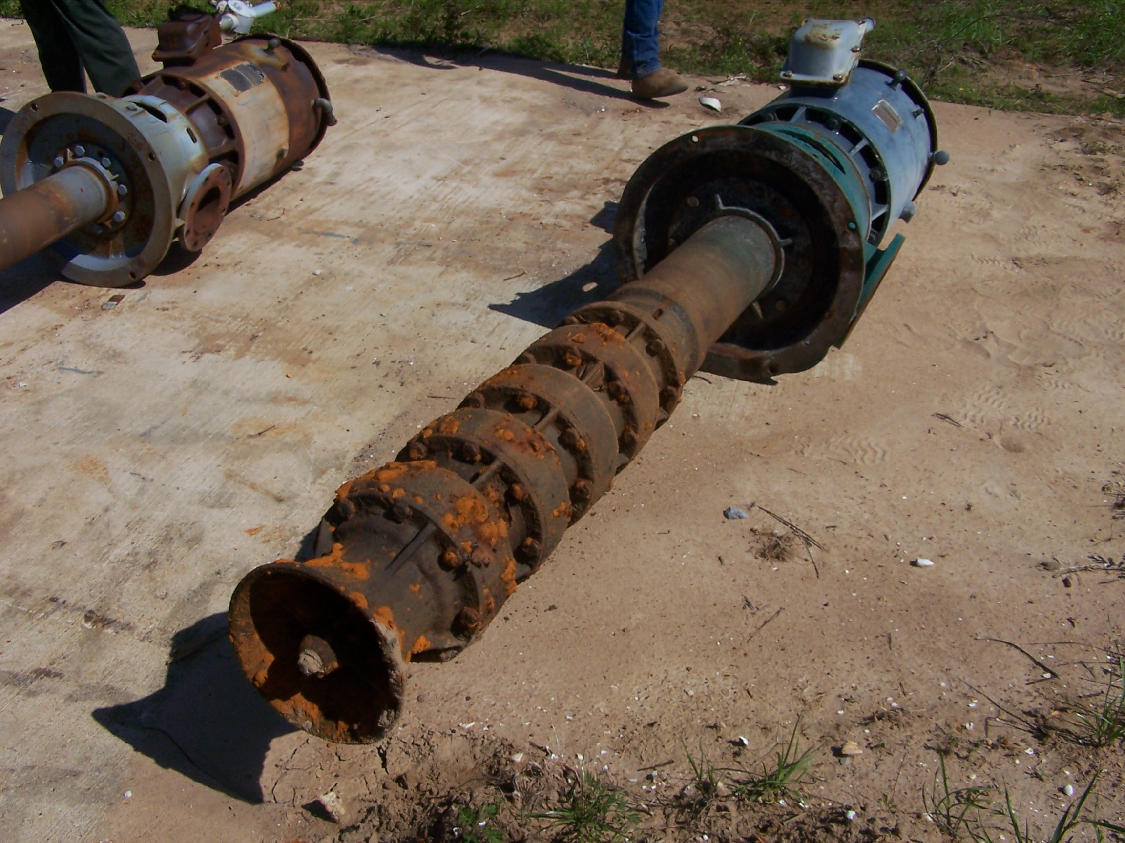 Used Johnson submersible pump