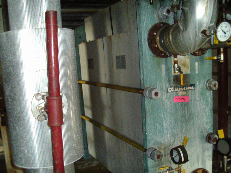Used Alfa Laval SS plate heat exchanger Type A15-BFG 4448.1 (SOLD)
