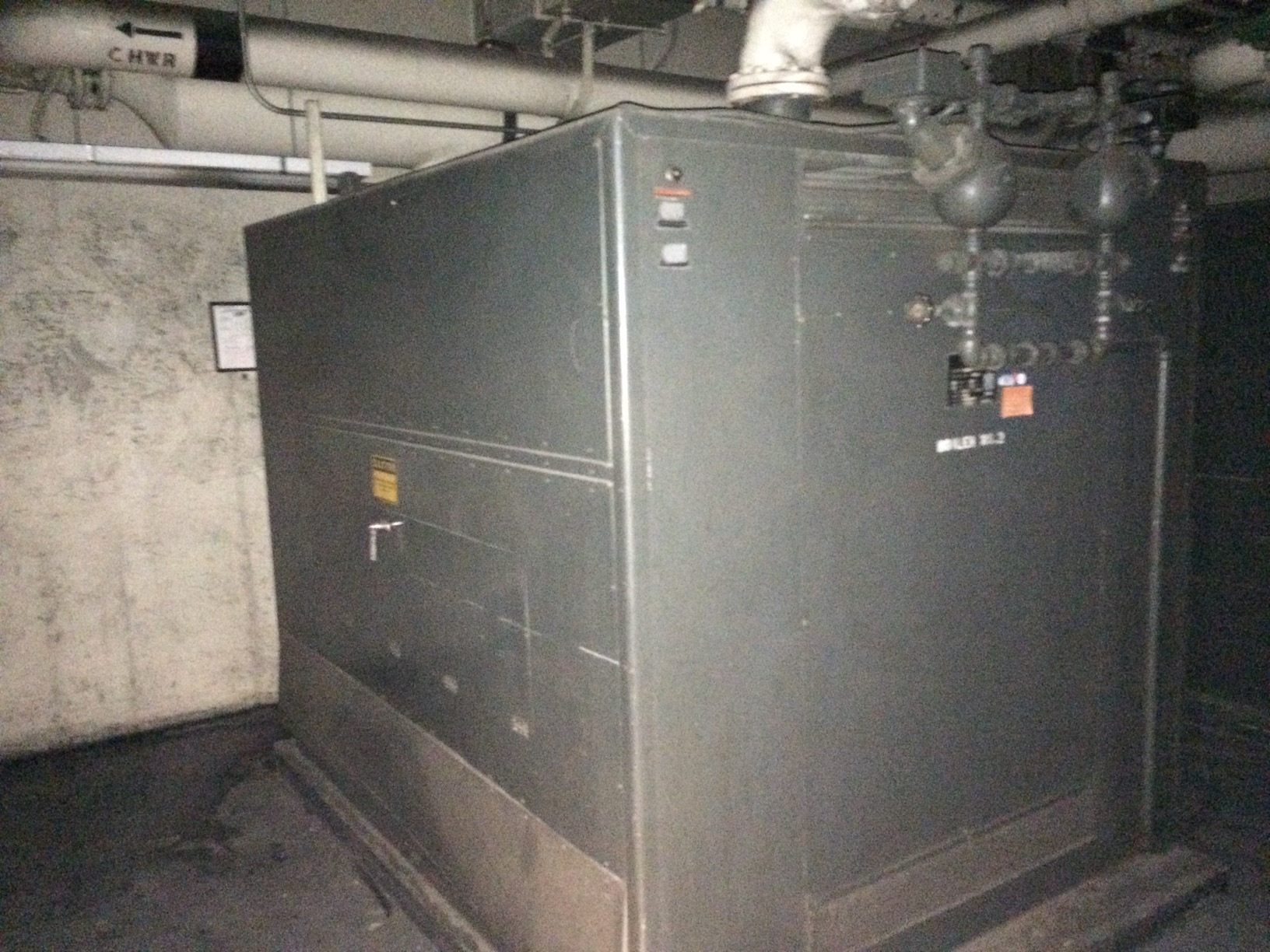Used Precision Parts Corp. approximately 146HP Hot Water Boiler