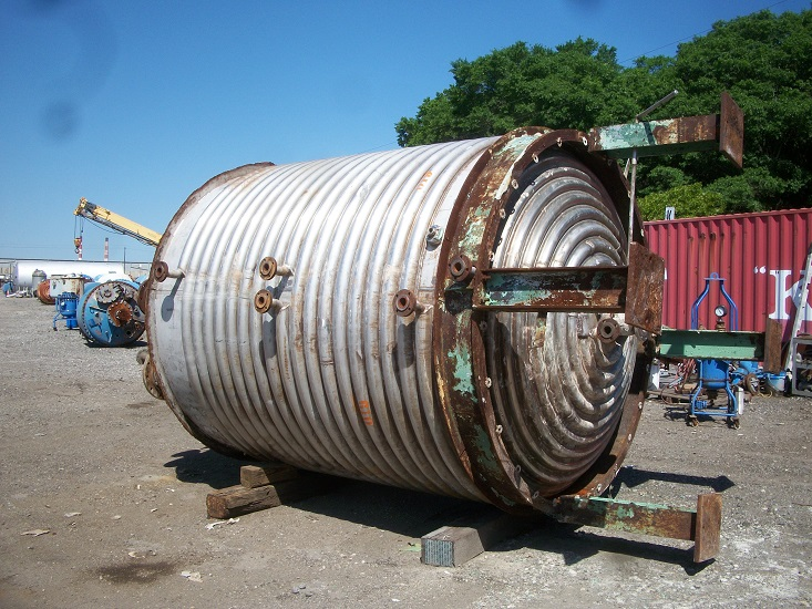 Used industrial copper and metal works approx gallon