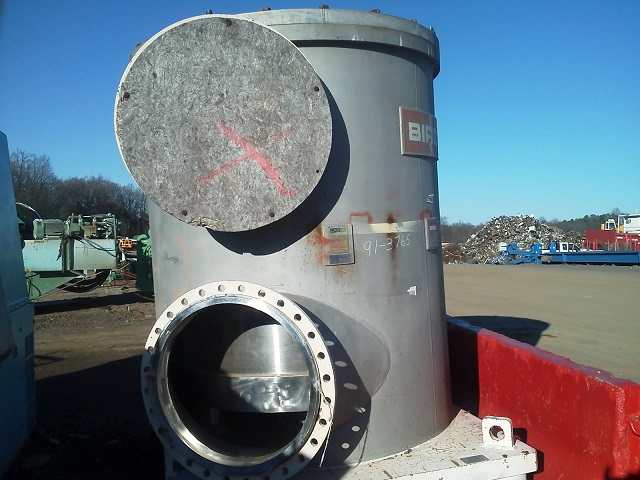 Used Bird Headbox pressure screen