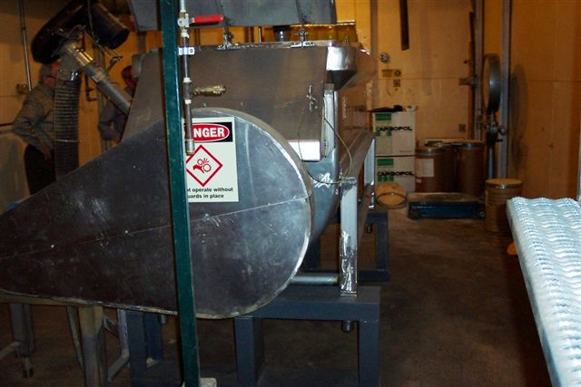 Used Jones 55 cu. ft. S/S double ribbon mixer(SOLD)