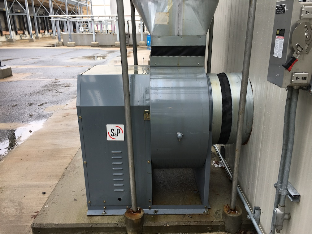 Unused Soler&Palau Model CM24HT blower with 5 HP motor(SOLD)