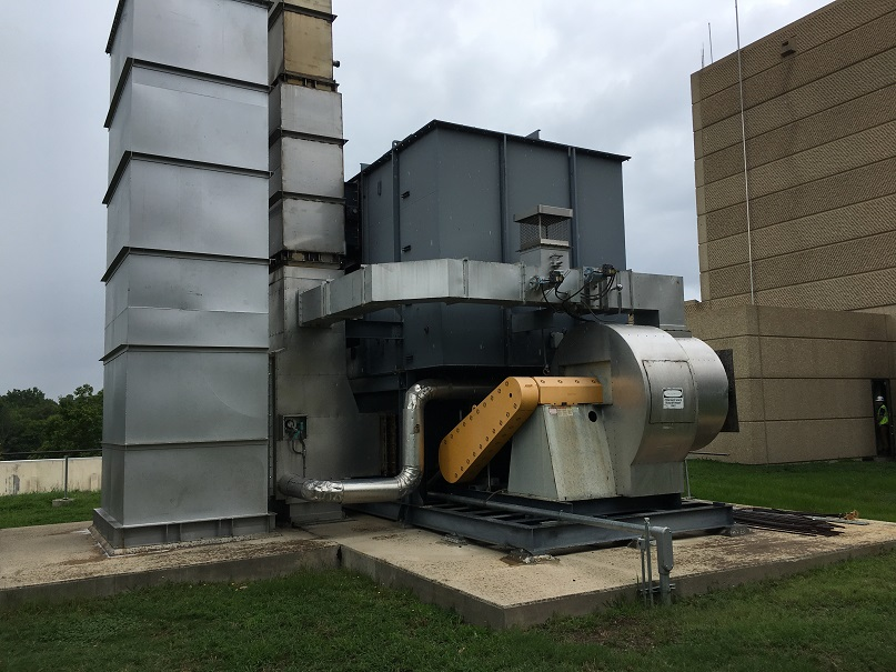 Refurbished 2003 CleanSwitch Model CS250-95 Thermal Oxidizer