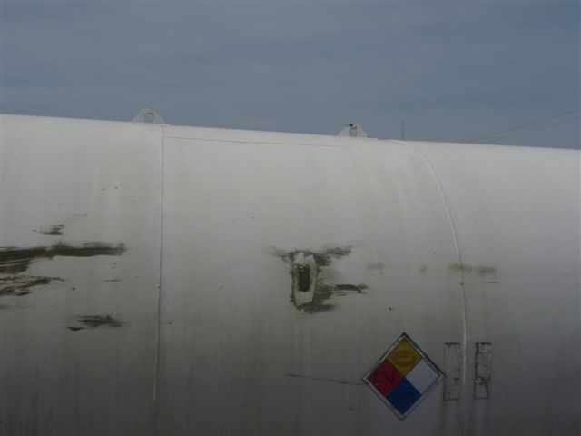 Used General Industries approximately 20,000 gallon vertical (SCRAPPED)