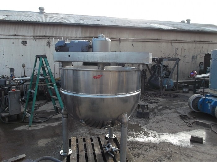 Used 200 gallon Dover Double Motion Kettle. Model 200. (SOLD)