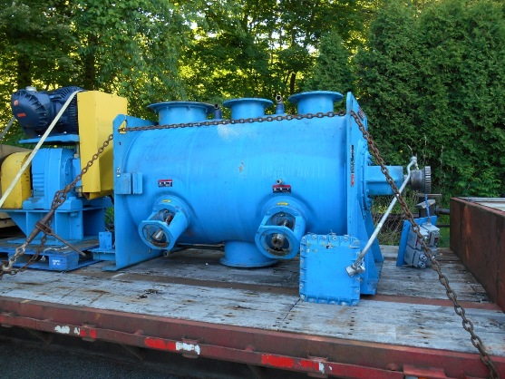 Used Littleford model FKM-1200E Horizontal Plow Mixer(SOLD)