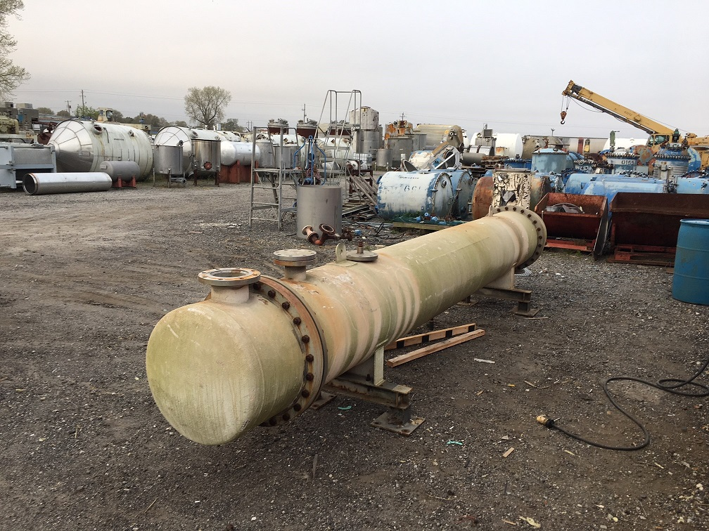 Used Trumbo Inc. approximately 1125 sq ft 304 S/S horizontal Heat (SOLD)