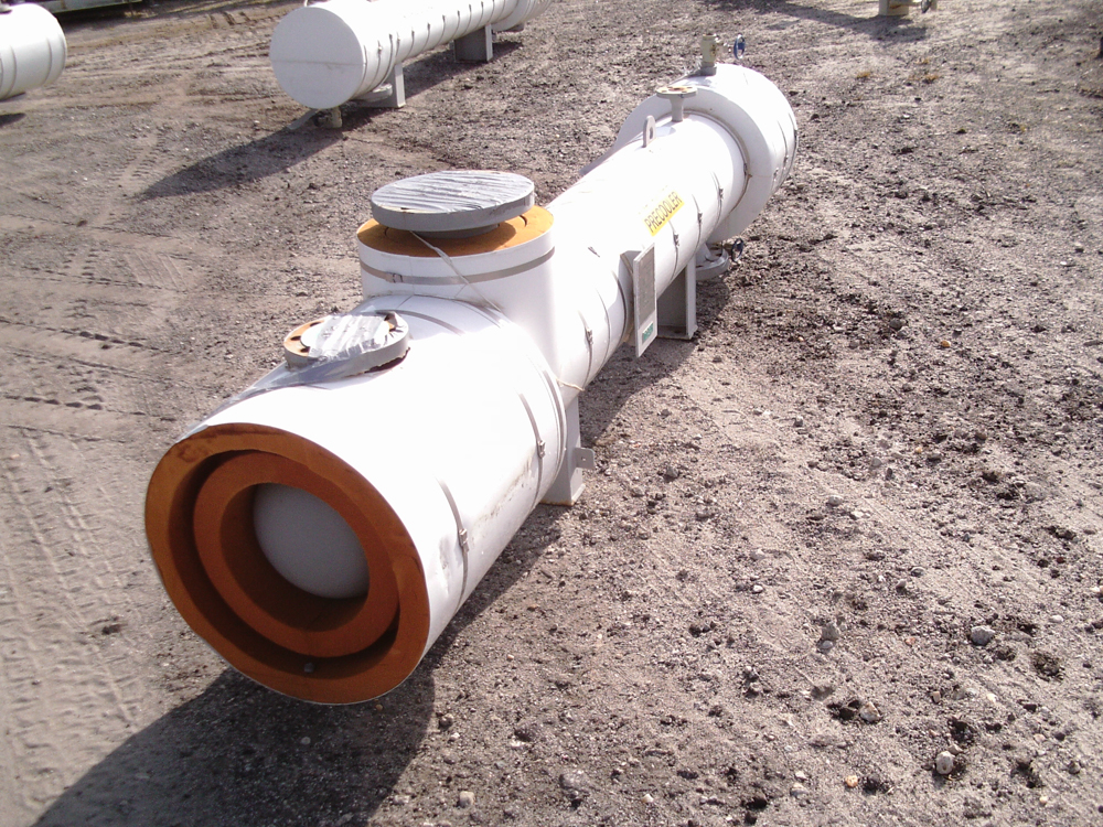 Unused Gaspar Inc. approximately 87 square foot Shell and Tube HE