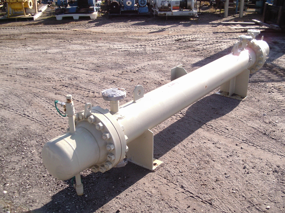 Unused Southern Heat Exchanger Corp. appx. 101 sq. ft. Shell and Tube HE