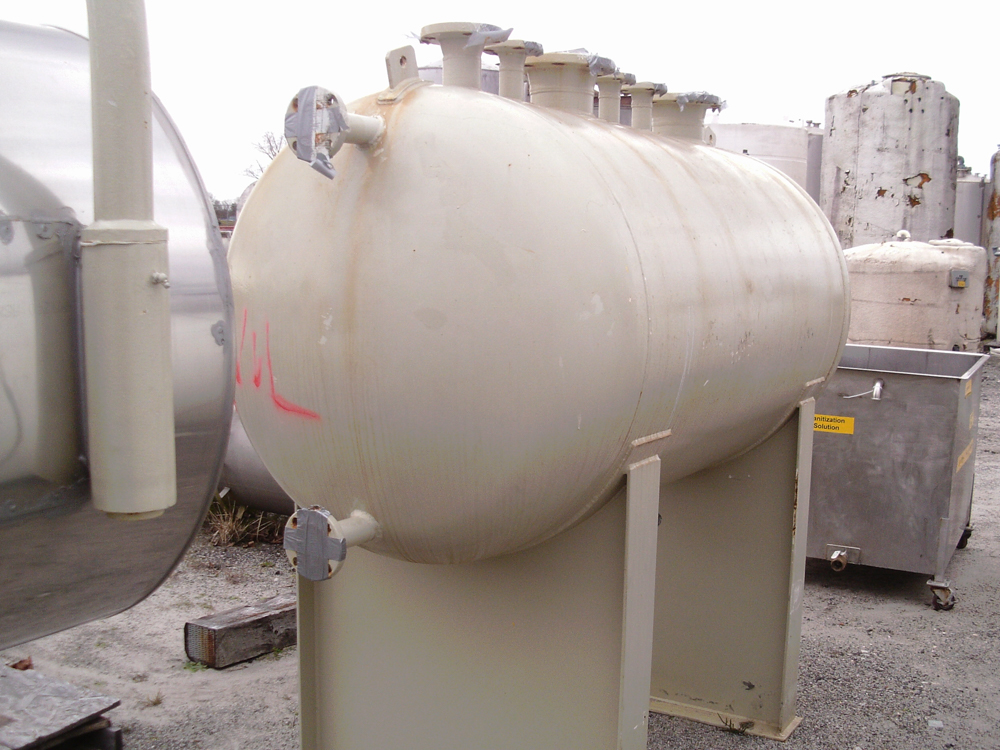Merrill Fabricators Inc. appx. 325 gallon C/S horizontal pressure tank