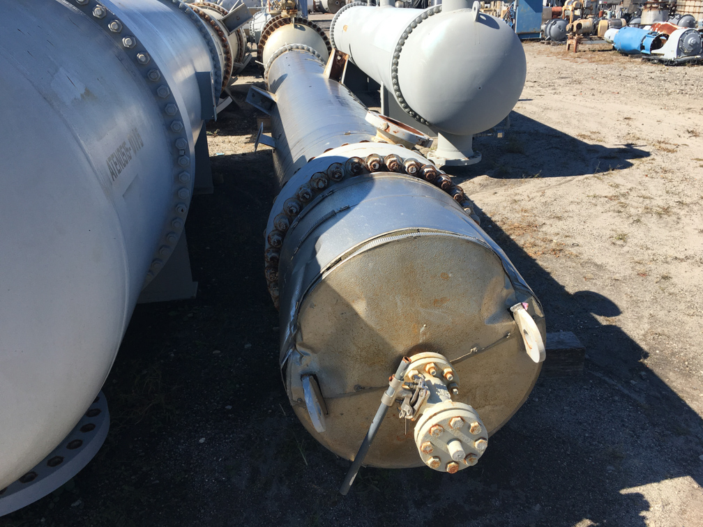 Unused Gaspar Inc. approx. 1,768 square foot Shell and Tube Heat Exchanger