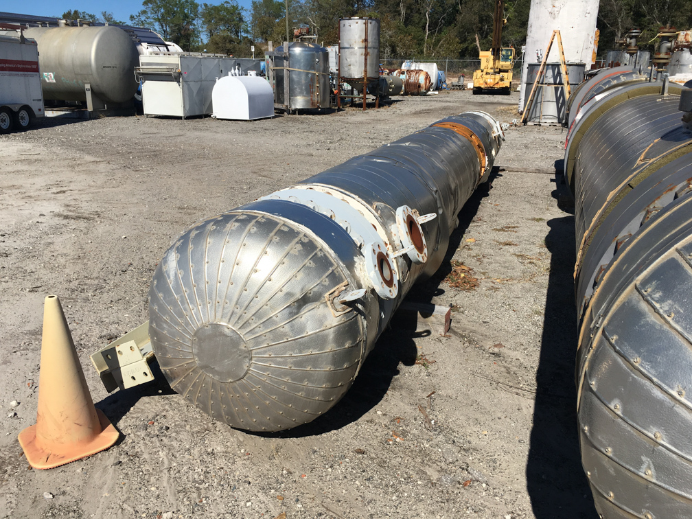 Unused Gaspar Inc. approx. 3800 square foot (single-pass) Shell and Tube