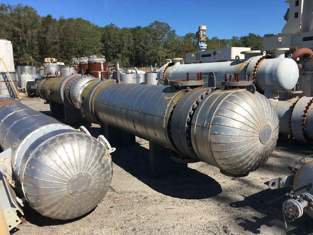 Unused AT&F Advanced Metals approximately 1,450 square foot Shell and Tube
