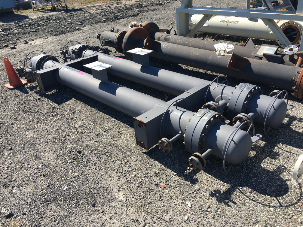 Unused AT&F Advanced Metals LLC. approx. 139 square foot Shell and Tube