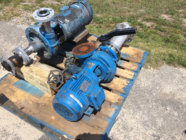 Used Carver Pump Co. Type GH 4 X 3 X 7-10P-AI pump