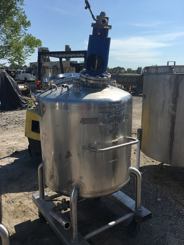 Used Feldmeier Equipment approximately 130 gallon  mix tank(Sold)