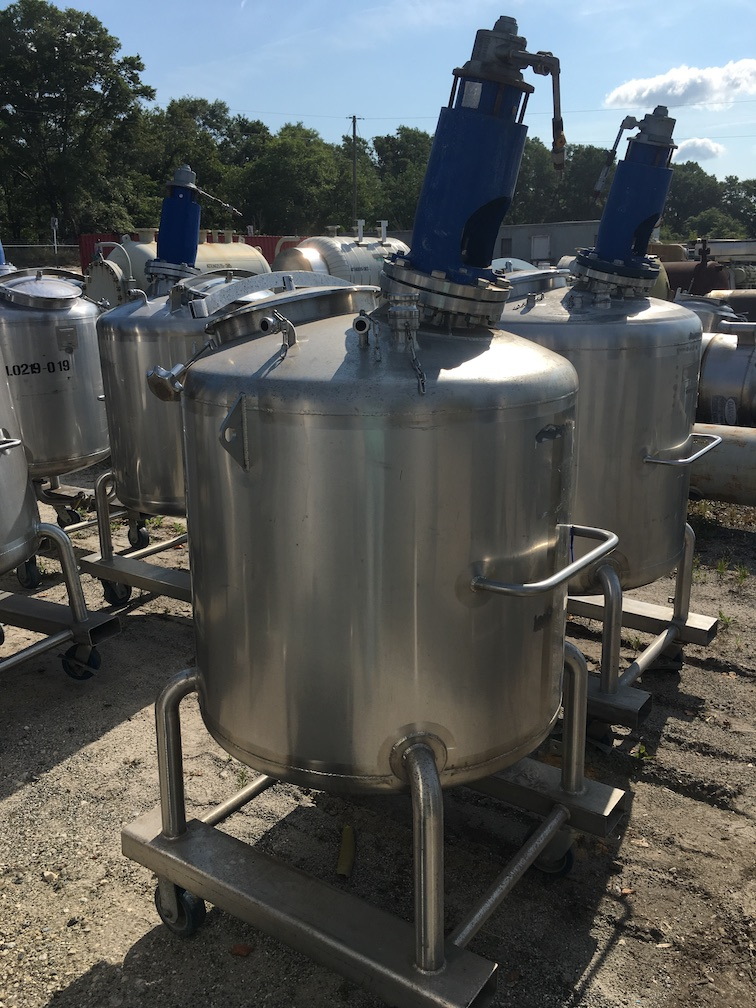 Used Feldmeier Equipment approximately 130 gallon 316 SS tank (SOLD)