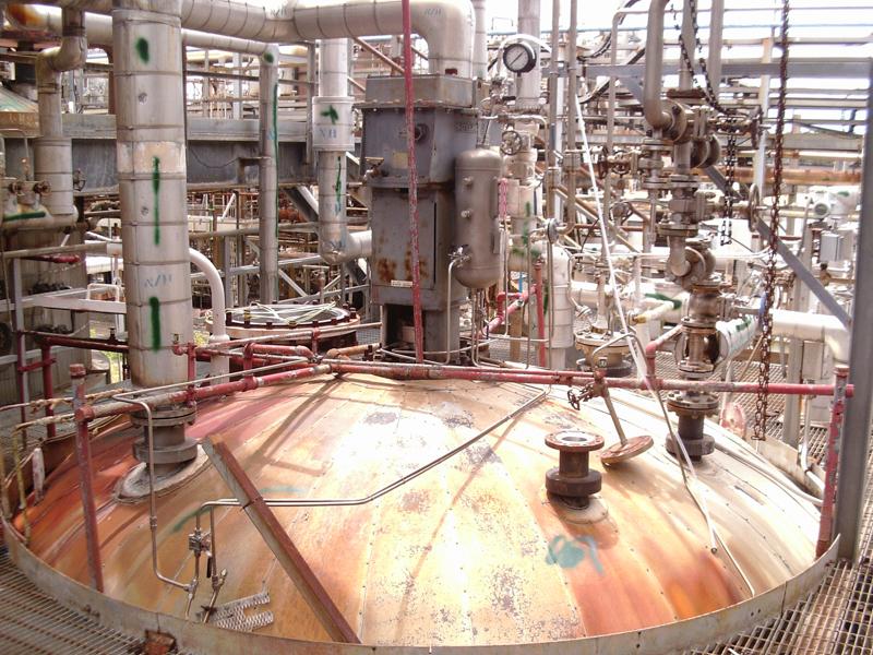 Used Alloy Fabricators Inc. 10,500 gallon 316 S/S pressure tank ...
