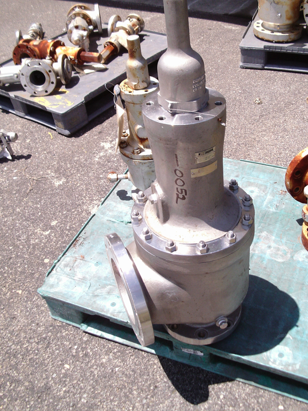 "Unused Consolidated Valve CF8M-B90137, size 6"" X 8"" 316 SS pressure relief"