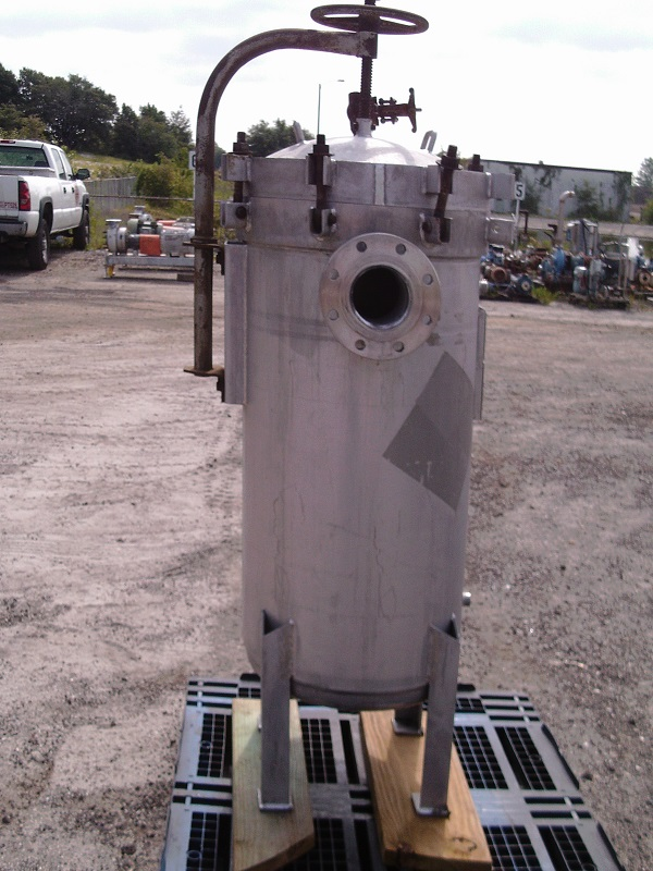 Used Commercial Filters Division 304 stainless steel bag filter(SOLD)