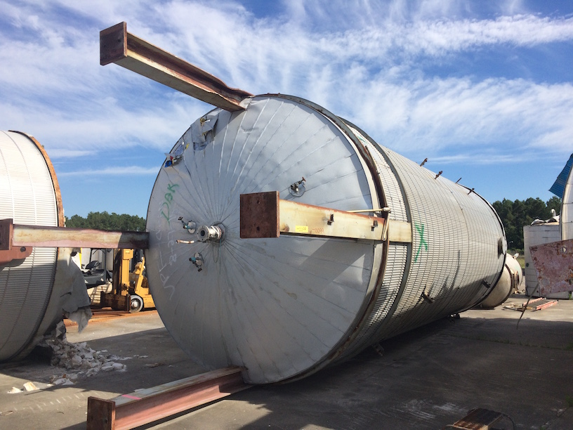 Used Recon South Carolina approx. 25,000 gallon 304 SS tank(SOLD)