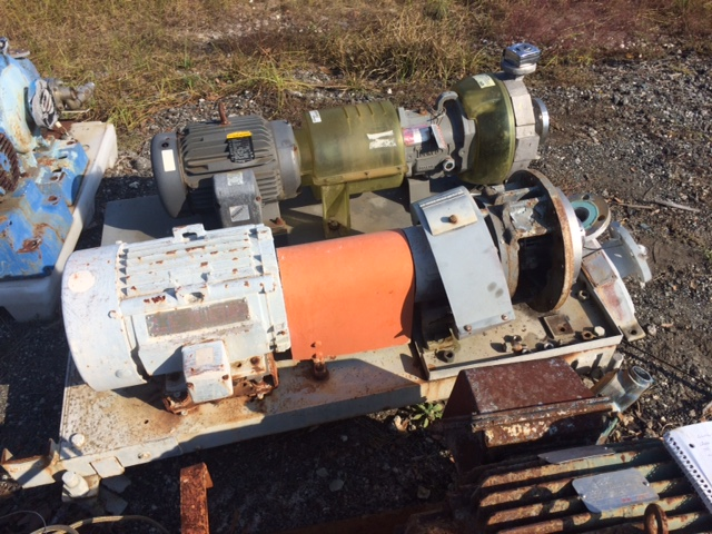 Used Durco Model 3 X 2-10/75 centrifugal pump