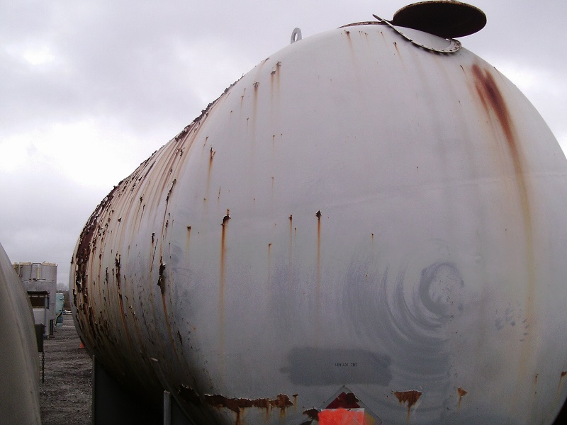 Used Richmond Engineering Co. 16,600 gallon carbon steel horizontal tank