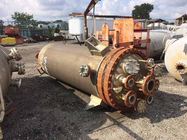 Used Titanium Fabrication Corp. approximately 500 gallon titanium reactor.