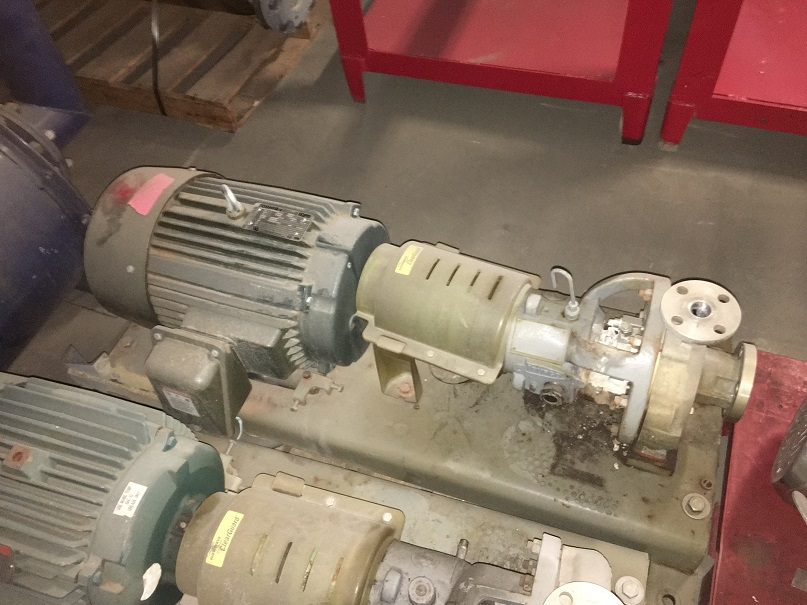 Used Durco Mark III centrifugal pump