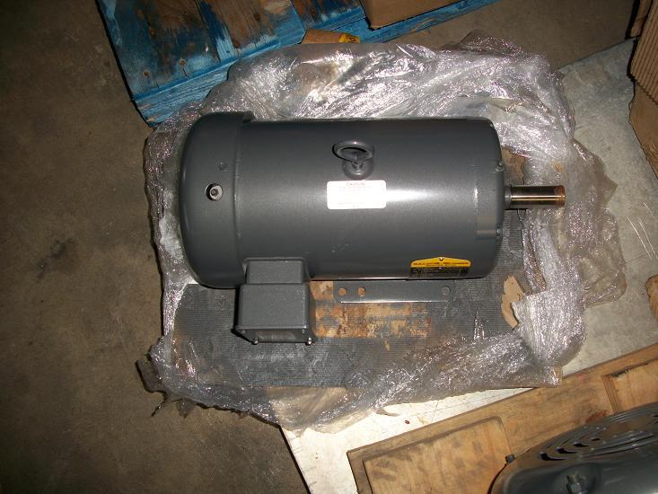 Unused baldor reliance 1 5 hp motor for Baldor 1 5 hp motor