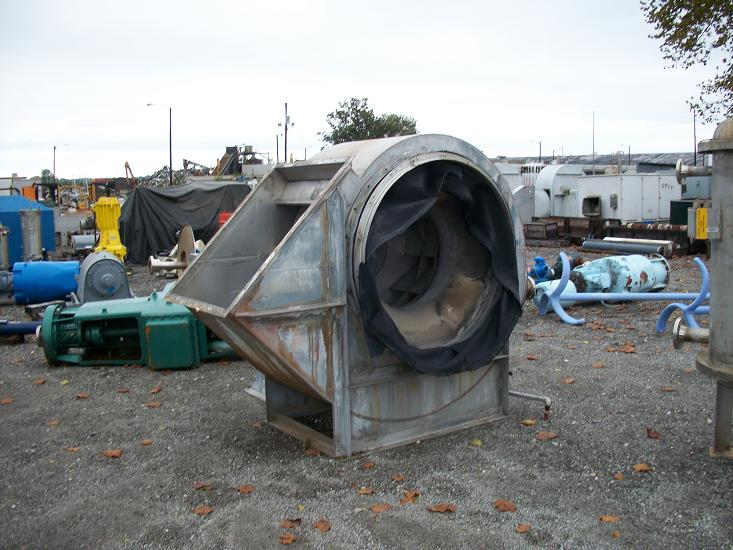 Used New York Blower 50 HP 3/60/460 volt.  Size 445.  Shop # X3420.