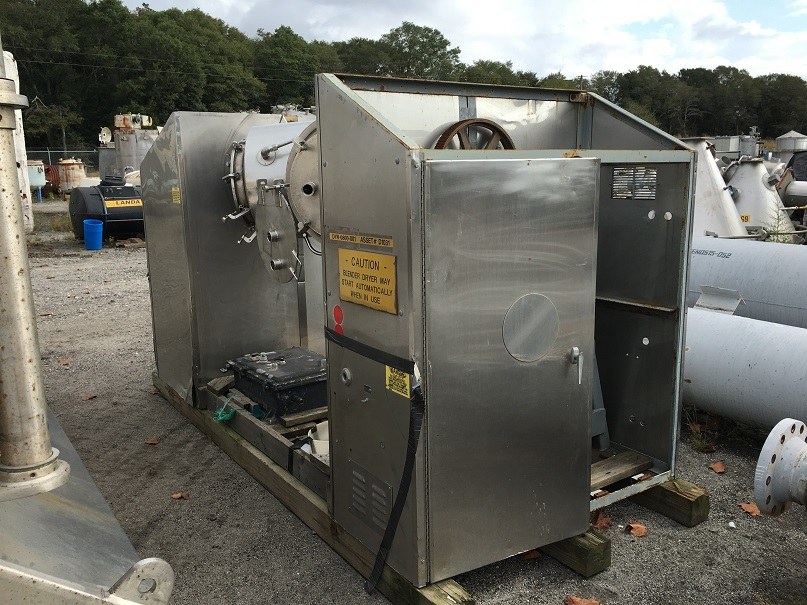 Used Nolte Corporation approx. 10 cu. Ft. S/S twin shell dryer(SOLD)