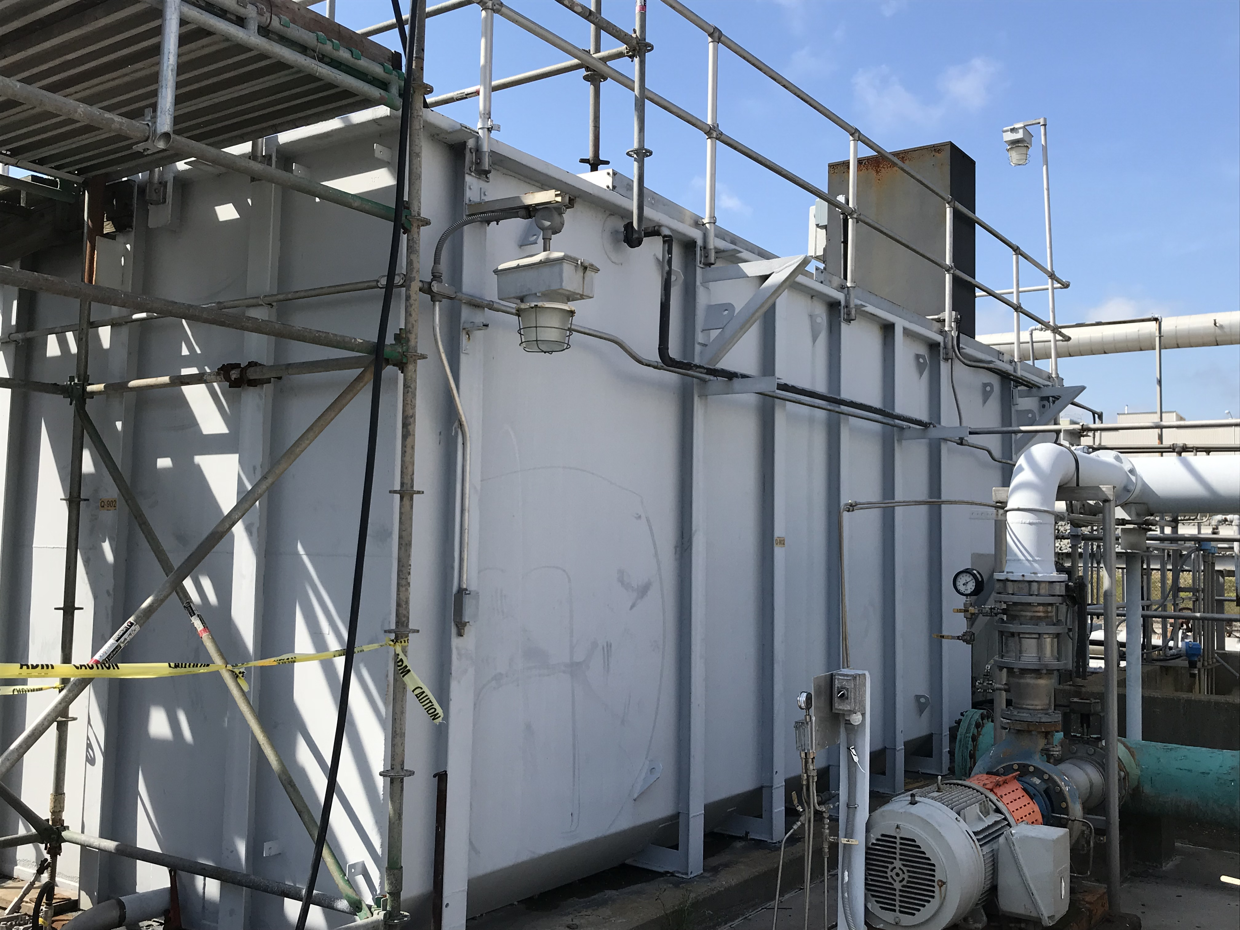 Used Packaged Extended Aeration Waste Water Plant