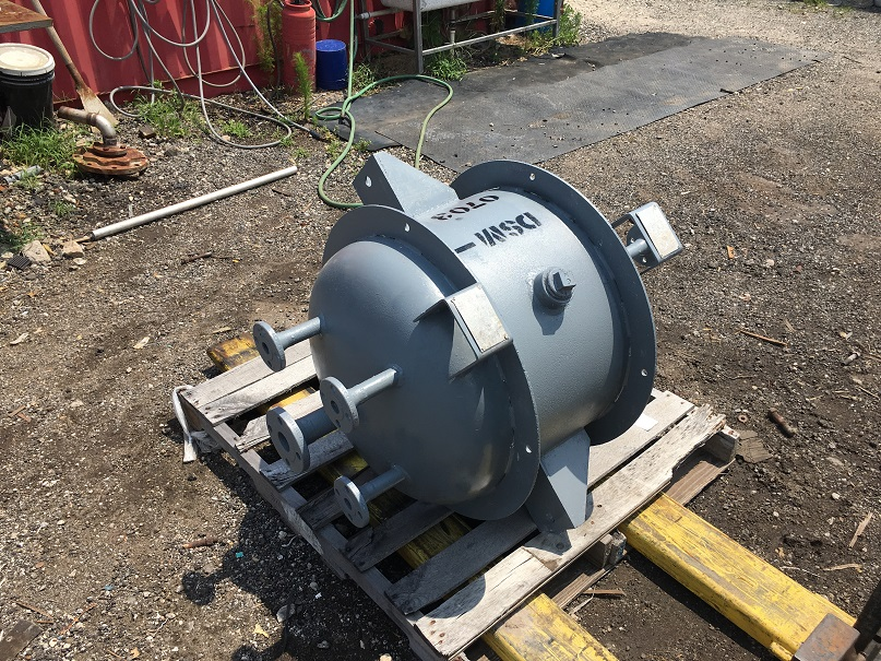 Un-used J.F.D. Tube and Coil Products, 30 gal, Carbon steel tank