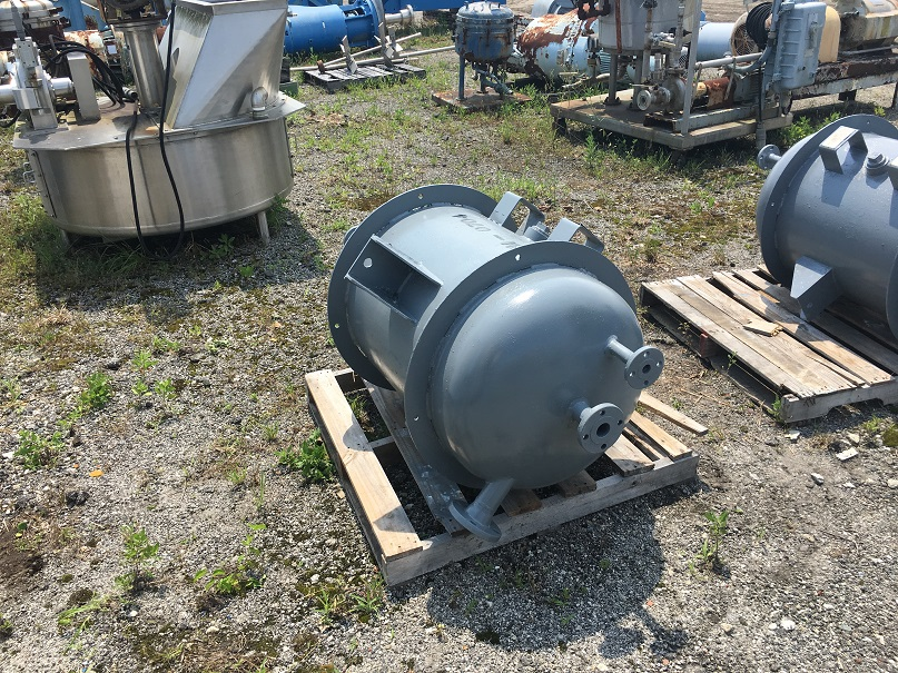 Un-used J.F.D. Tube and Coil Products. 60 gal, carbon steel tank
