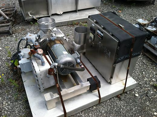 Used Fitzpatrick Co. 316 Stainless Steel Model D6A