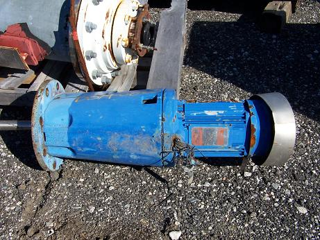 Used lightnin Model XJC-174 top entry agitator drive Relocated