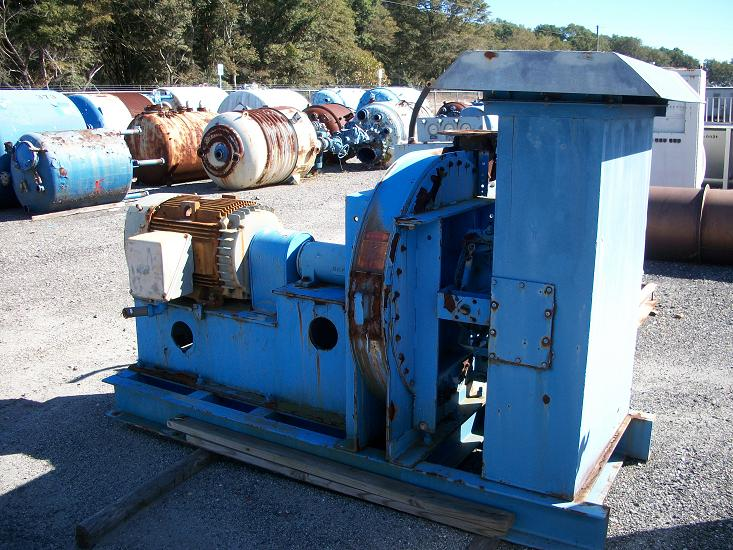 Used Buffalo Forge Carbon steel blower