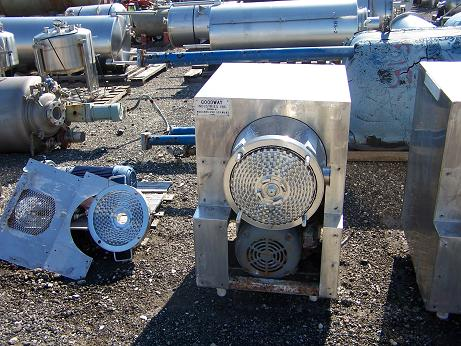 Used Goodway Continuous Mixer.  316 S/S construction