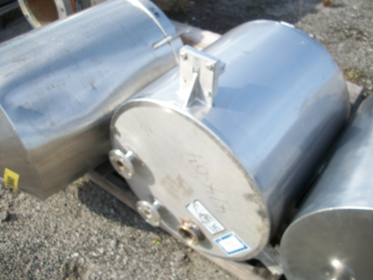 Used SFI approximately 45 gallon vertical 316 stainless steel tank(SOLD)