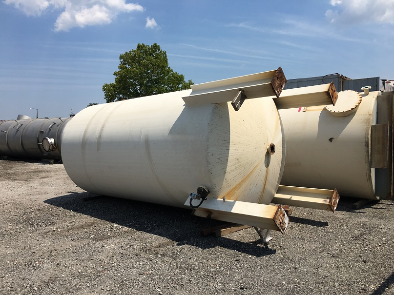 Used Kennedy 6100 gallon carbon steel vertical storage tank(SOLD)