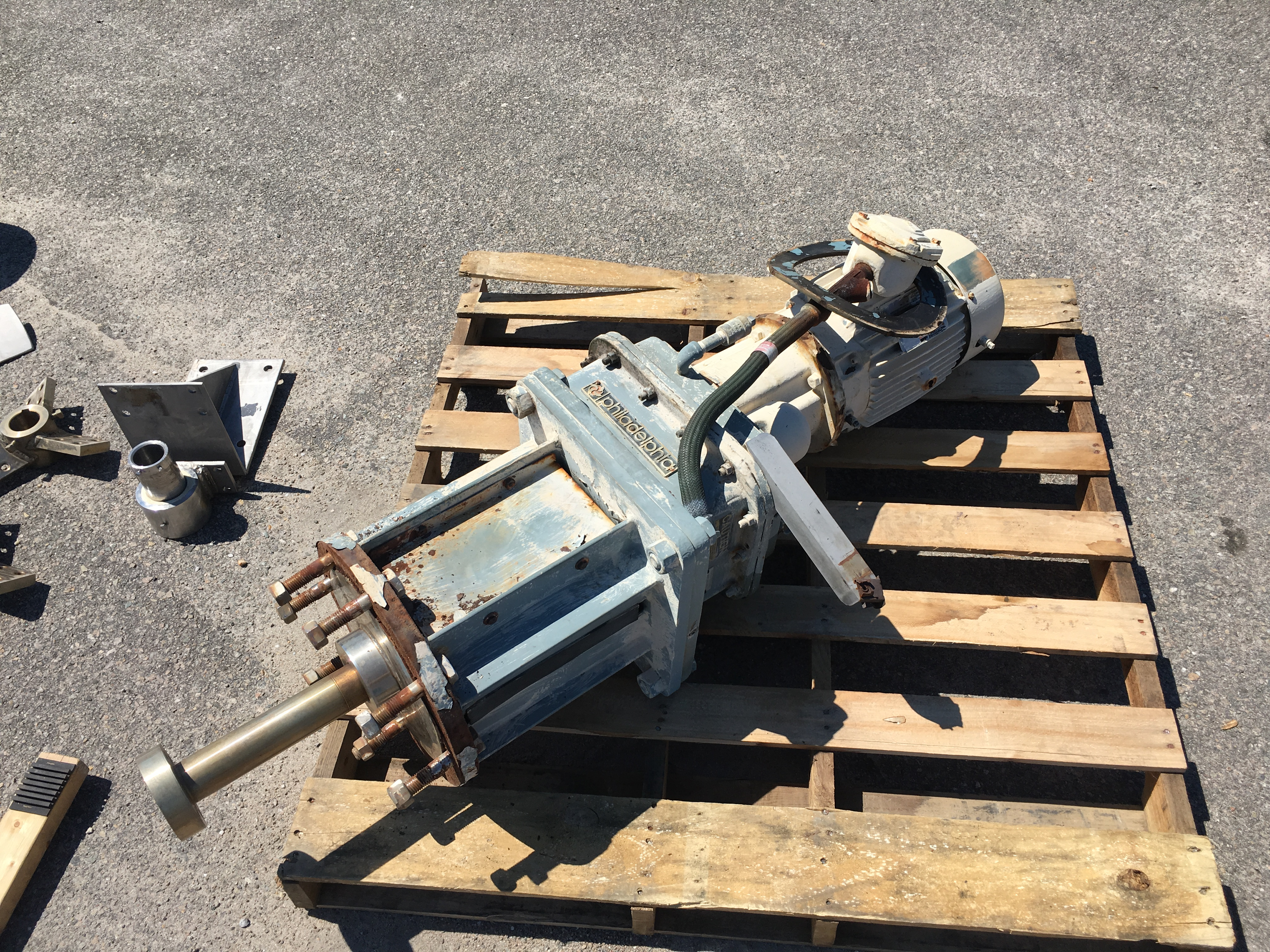 Used Philadelphia Model PV-4 PTSL agitator