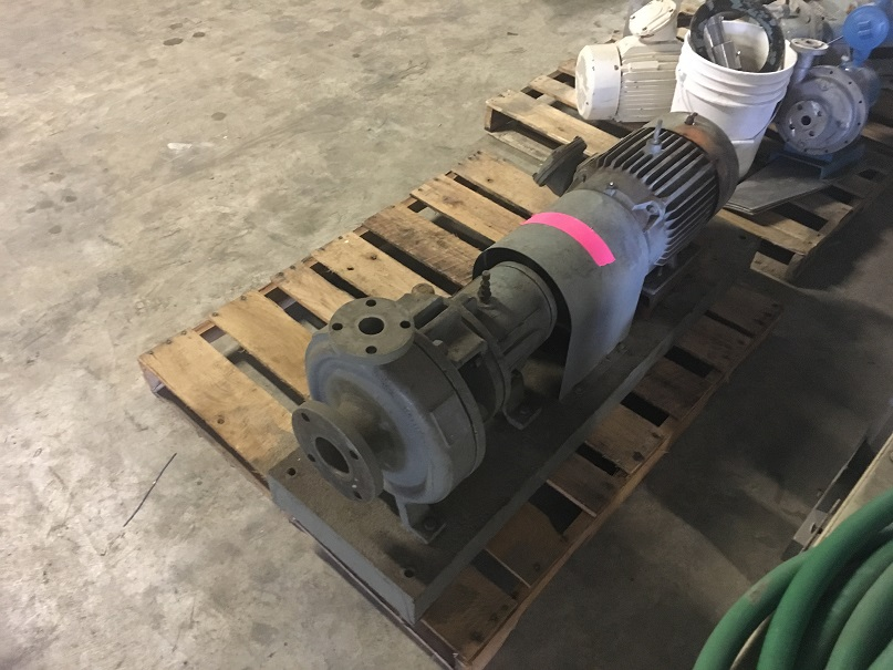 Used Durion Durco 316 SS Mark II centrifugal pump