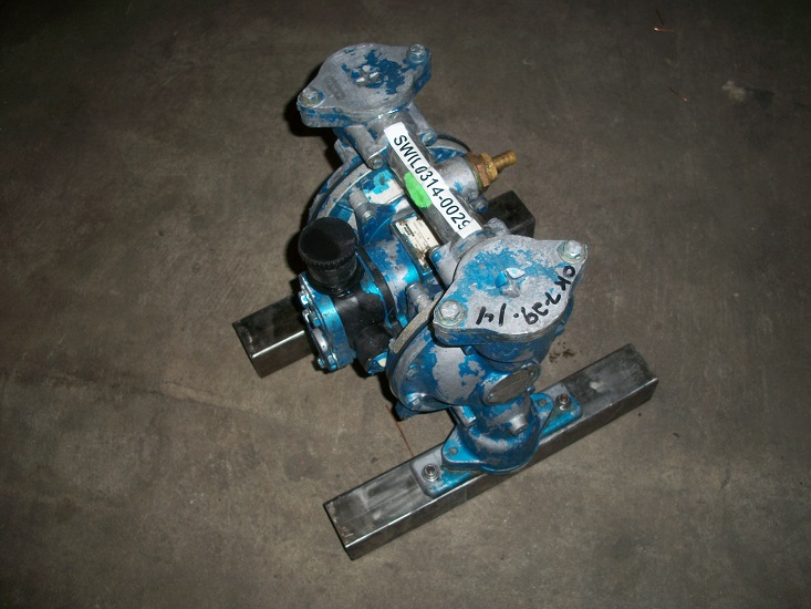 Used Warren Rupp Sandpiper diaphragm pump Model EB1-SM,  TN-3-A.