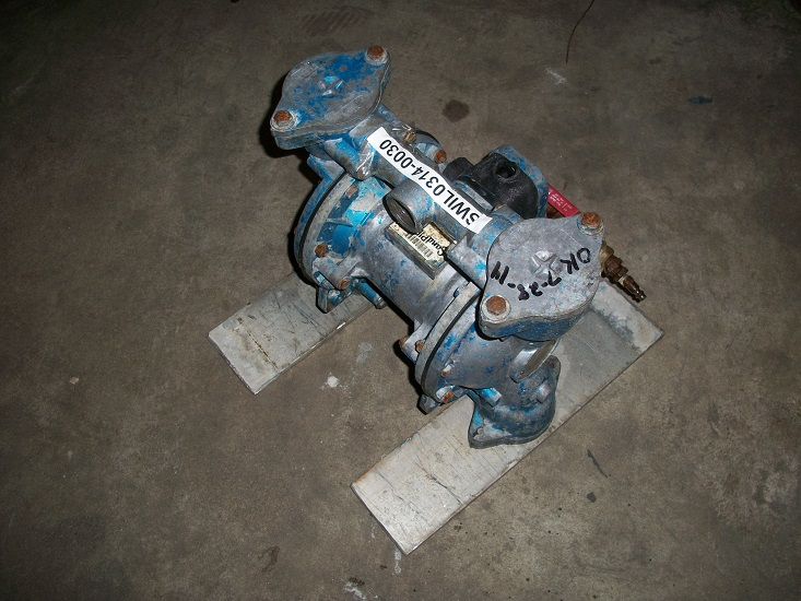 Used Warren Rupp Sandpiper diaphragm pump Model EB1-SM,  TN-3-A